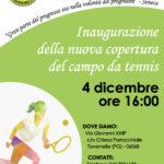 locandina inaugurazione Tennis Club Tavernelle