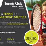 locandina corsi di tennis Tennis Club Tavernelle