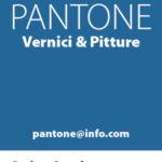 biglietto da visita verticale Negozio di Vernici & Pitture